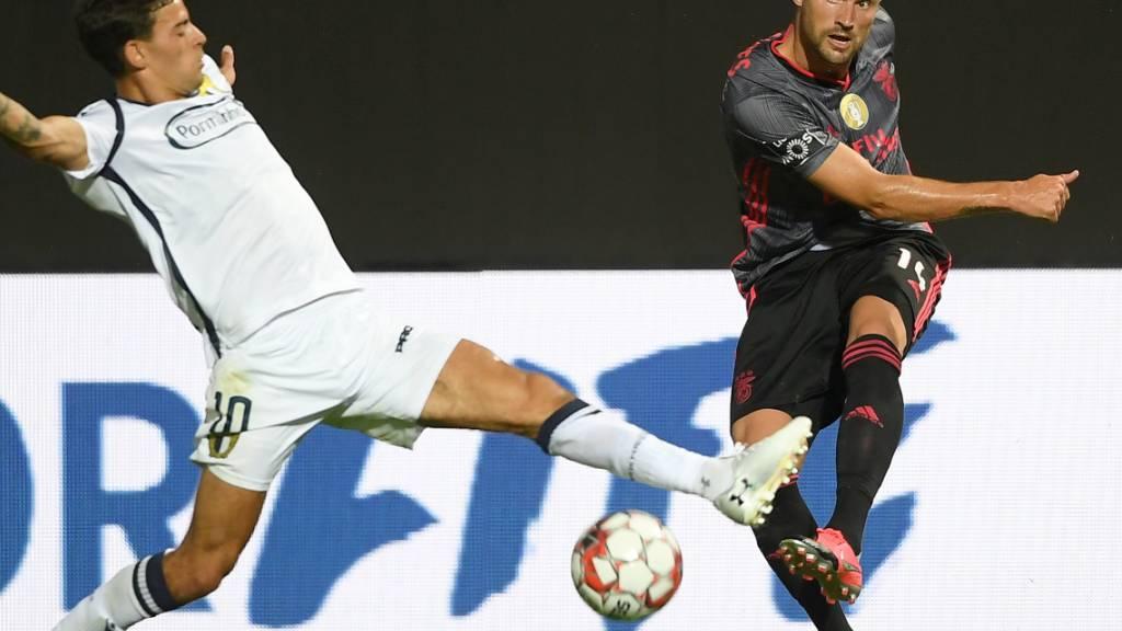 Benfica nur 1:1 - Porto praktisch Meister
