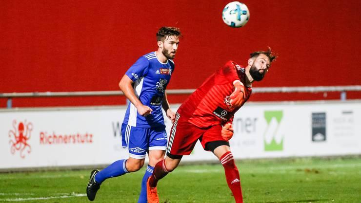 Der FC Wohlen bezwingt die zweite Mannschaft des FC Sion mit 2:1.