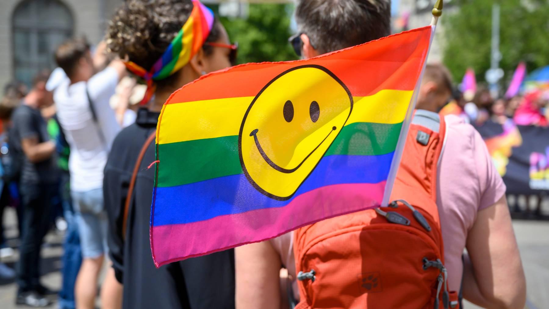 Am 9. Februar 2020 stimmte die Schweizer Bevölkerung für mehr Schutz für Homosexuelle. (Symbolbild)