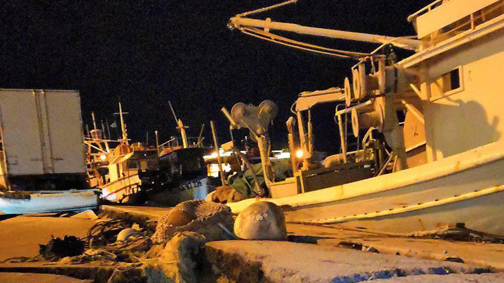 Ein starkes Seebeben im Westen Griechenlands hat materielle Schäden etwa an einem Hafen auf der Insel Zakynthos verursacht. Personen wurden keine verletzt.