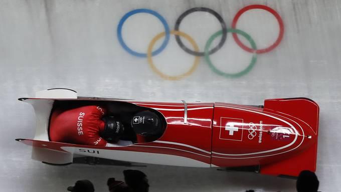 An den Olympischen Spielen 2022 sollen Schweizer Bobs für Glücksgefühle sorgen.