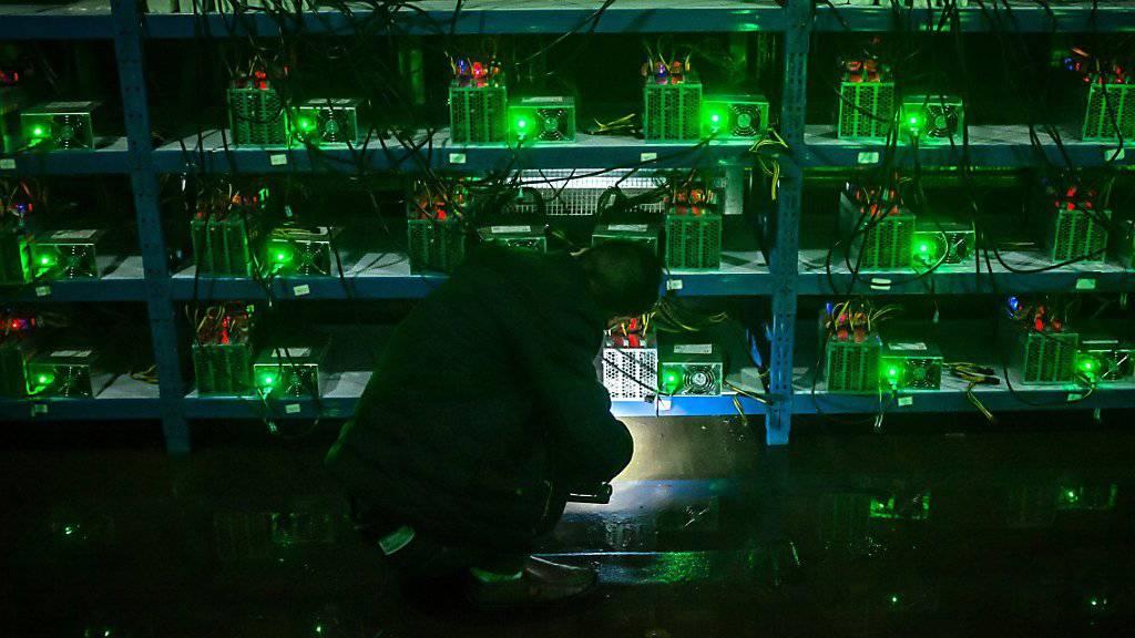 Leistungsstarke Computer nötig: Die Internetwährung Bitcoin wird durch komplexe Rechenoperationen erschaffen. (Symbolbild)