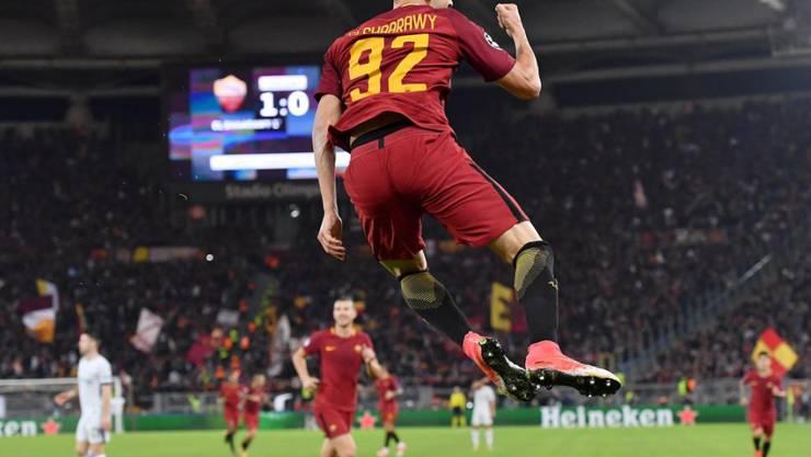 Auf dem Sprung nach China: Der italienischen Internationale Stephan El Shaarawy verlässt die AS Roma und wechselt zu Shanghai Shenhua