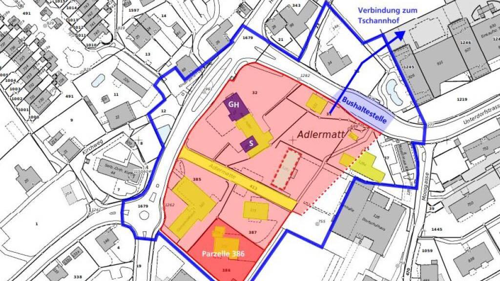 Sieben Teams planen am neuen Zentrum von Buchrain