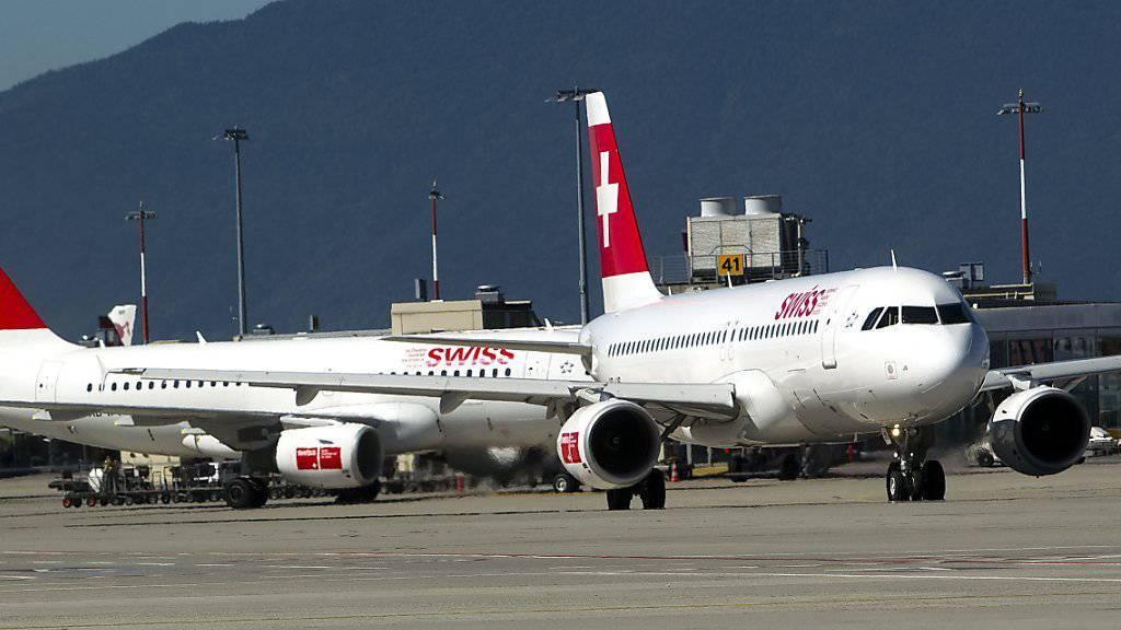 Die Swiss-Flugzeuge bleiben vorerst präsent in Genf, aber wie lange noch? (Archivbild)