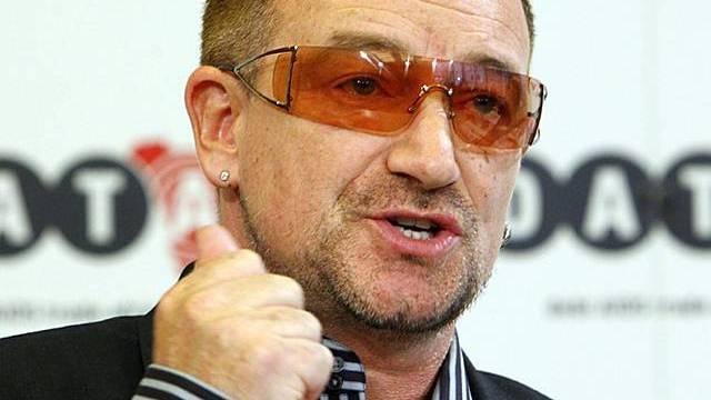 Rockstar Bono ist wieder fit (Archiv)