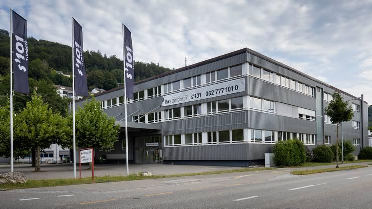 Noch ist an der Winznauerstrasse 101 in Trimbach wenig Fläche vermietet: Das Gewerbehaus «s'101».