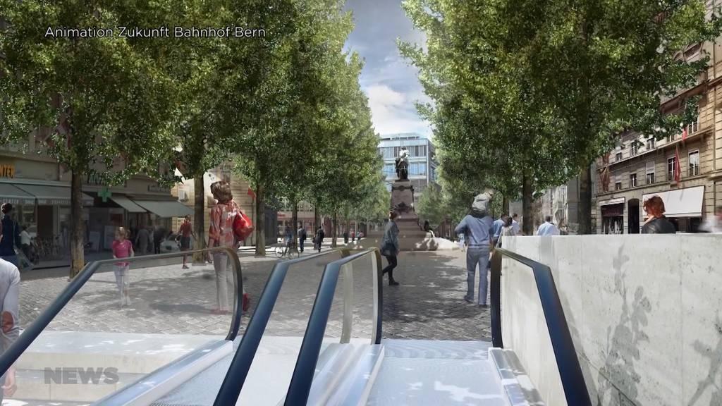 Abstimmungs-Vorschau: 112-Millionen-Kredit zu Umbau Bahnhof Bern