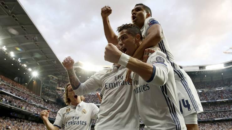 Nach dem 3:0-Sieg praktisch im Final: Real Madrid.