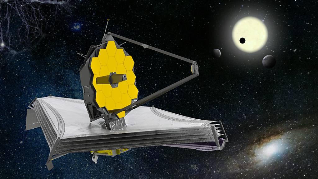 Das James-Webb-Weltraumteleskop wird das grösste und leistungsfähigste Teleskop sein, das jemals ins All gebracht wurde.