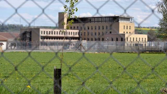 Blick auf das Waadtländer Gefängnis Bochuz (Archiv)