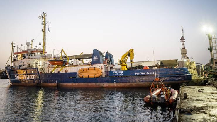 Die «Sea Watch 3» darf den Hafen in Malta derzeit nicht verlassen.