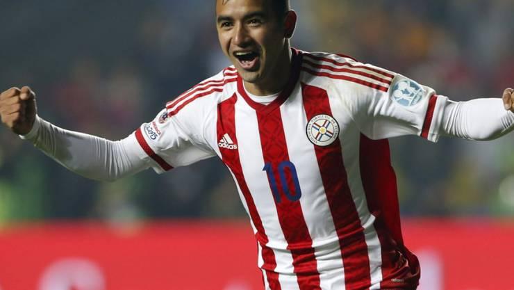 Derlis Gonzalez beim FCB offenbar kurz vor dem Absprung