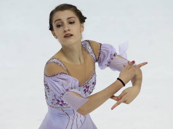 Alexia Paganini, die jüngste Schweizer Olympia-Teilnehmerin.
