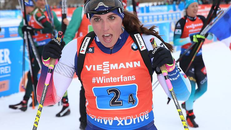 Lena Häcki konnte die Mixed-Staffel nicht voranbringen