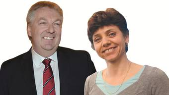 Hansjörg Wilde und Christine Kaufmann wollen beide Riehen regieren.