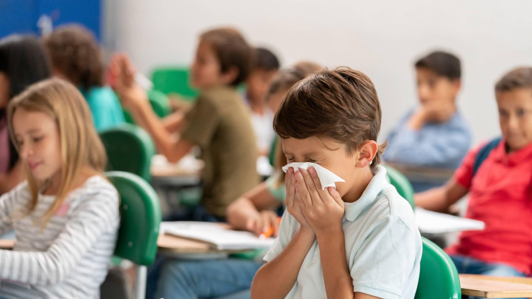 Was tun, wenn mein Kind krank wird? (Symbolbild)