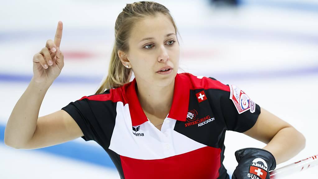Skip Elena Stern will an ihrer ersten Weltmeisterschaft auf sich aufmerksam machen