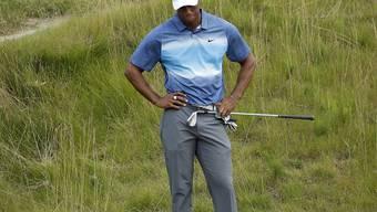 Tiger Woods kommt aus dem Rätseln um die Form nicht heraus