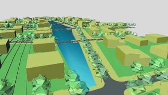 Neue Planung: Das Projekt Rössler-Bodenacker (mit See) ist vom Tisch, nicht aber das Oberflächengewässer.  (AZ-Archiv)