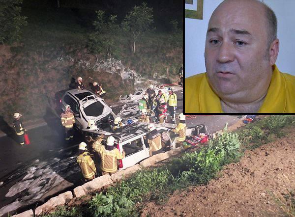 «Ich habe eingegriffen – aber ich habe es falsch gemacht»: Fahrlehrer Alexander Berchtold übernimmt die Schuld für den Unfall.