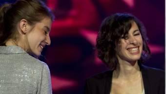 Valeska Steiner (links) und Sonja Glass haben die zweite CD eingespielt (Archiv)
