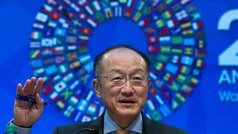 Weltbank-Präsident Jim Kim tritt seine zweite Amtszeit an. AP/Keystone