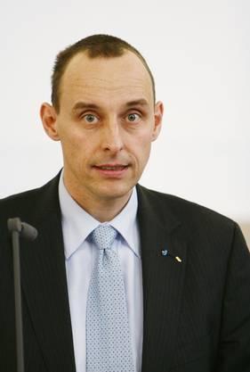Pascal Furer, SVP-Nationalratskandidat.