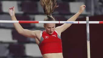 Angelica Moser steht am Sonntag zum ersten Mal in einem WM-Final