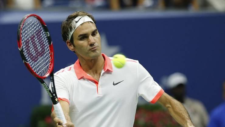 Federer steht mit seinem neuen Schlag im Fokus.