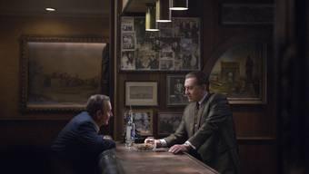 Mentor und Protegé: Russell Bufalino (Joe Pesci, links) und Frank Sheeran (Robert De Niro).