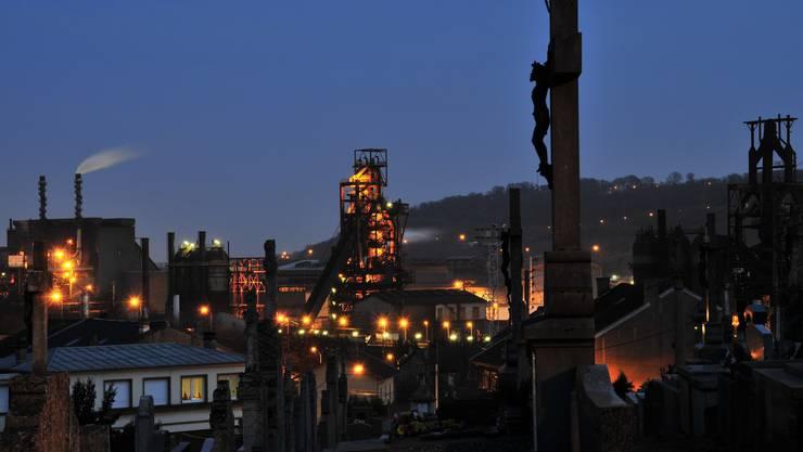 Die nordostfranzösische Kleinstadt Hayange wurde hart vom Niedergang der Schwerindustrie getroffen. LORRAINE. MOSELLE.