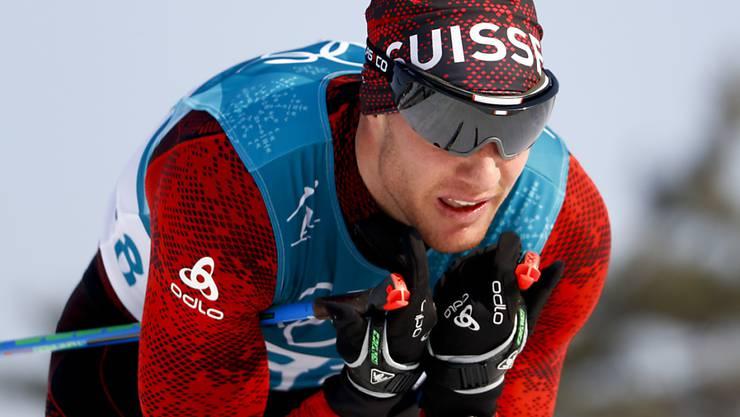 Dario Cologna verpasst zusammen mit Roman Furger an den Winterspielen in Pyeongchang überraschend den Final im Teamsprint