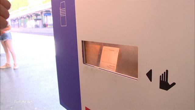 SBB möchte Ticketautomaten abbauen