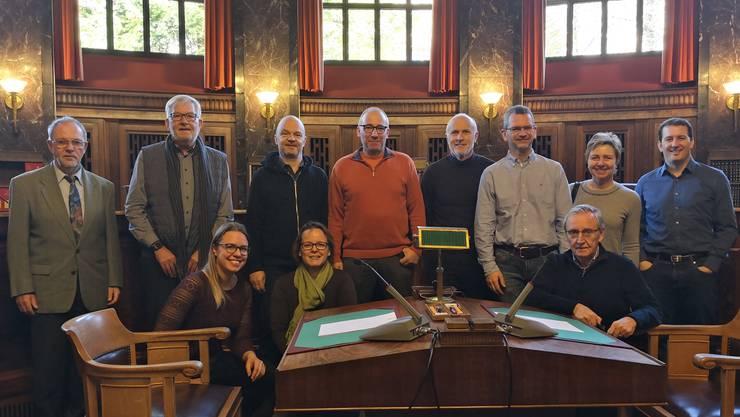 Die FDP-Delegation im Bundesgericht