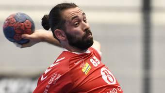 TVE-Topskorer Justin Larouche nach der Niederlage gegen den BSV Bern: «Das Resultat wird dem Spielverlauf nicht gerecht.»