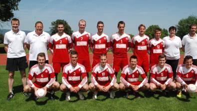 Das Schweizer EM-Team.