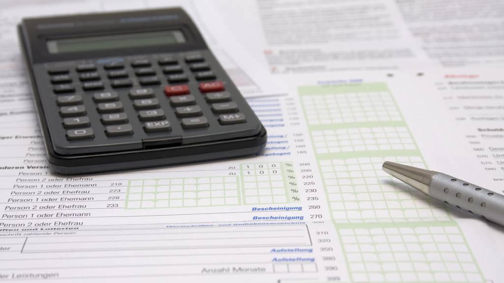 Die Steuererklärungen der Schaffhauser Bürger wurden in einer Tonne entsorgt. (Symbolbild)