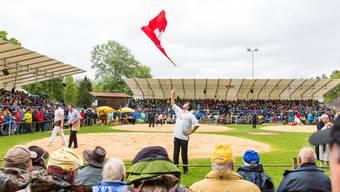 111. Aargauer Kantonalschwingfest am 7. Mai 2017 im Schachen Brugg