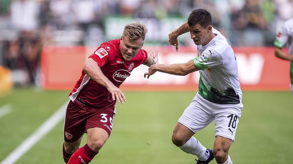 Mönchengladbach quält sich zu spätem Sieg