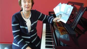 Die Sängerin Barbara Vigfusson macht sich für den Brugger Komponisten Friedrich Theodor Fröhlich stark.