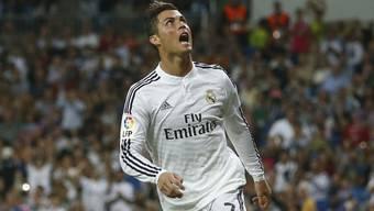 Cristiano Ronaldo traf vier Mal ins Netz