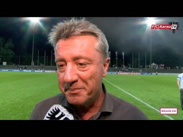 FC Aarau - FC Schaffhausen 1:3 (27.05.2016, Runde 36) Stimmen zum Spiel