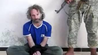 Ein Foto von Peter Theo Curtis in Gefangenschaft. (Archiv)