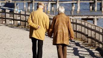 5 Franken mehr AHV für Rentner.