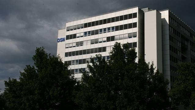 Dunkle Wolken über dem DSM-Werk Kaiseraugst: Entlassungen stehen bevor.