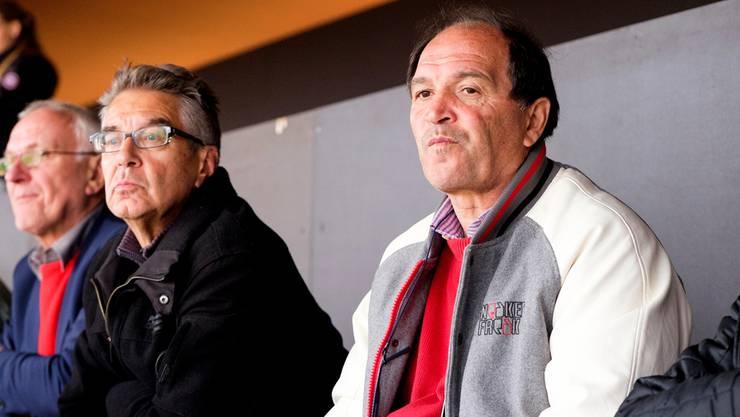 Der FC Zürich macht dem FC-Aarau-Trainer Raimondo Ponte (rechts) und az-Sportredaktor Ruedi Kuhn keine Freude.