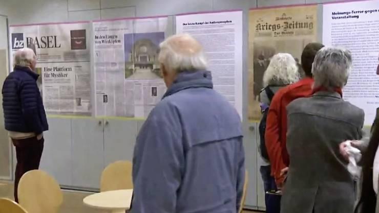 An der Basler Veranstaltung des Paracelsus-Zweig im «Scala» waren die Meinungen über die «Mainstream-Medien» gemacht.