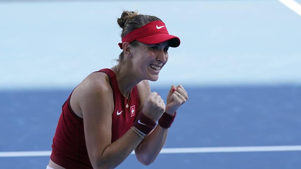 Sieg für Bencic: Die Schweizerin zieht in den Tennis-Halbfinal ein