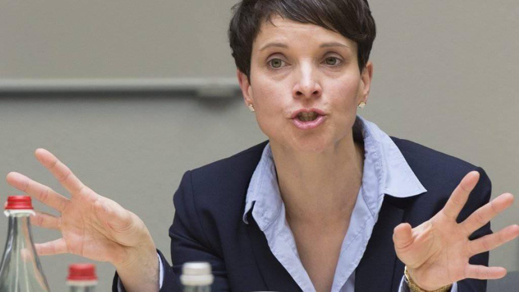 AfD-Chefin Frauke Petry: «Es braucht wieder mehr Kontroverse.»